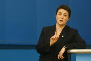 "Davidson rules herself out ""absolutely"" from wanting to succeed Cameron as UK Tory leader and the next PM"