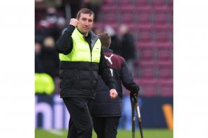 Alan Stubbs pleased to be competing on three fronts but insists league is the priority for Hibs