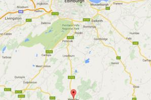 Homes and shops hit by gang in all-night Edinburgh to Peebles crime spree