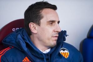 Neville still in place at Valencia but pressure is mounting . . .