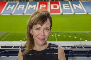 Meet Karyn McCluskey, the impressive woman who wants to change the behaviour in Scottish football grounds