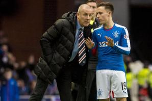Rangers manager Mark Warburton tips Barrie McKay for Scotland recognition